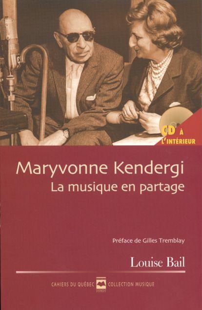 Couverture de Maryvonne Kendergi