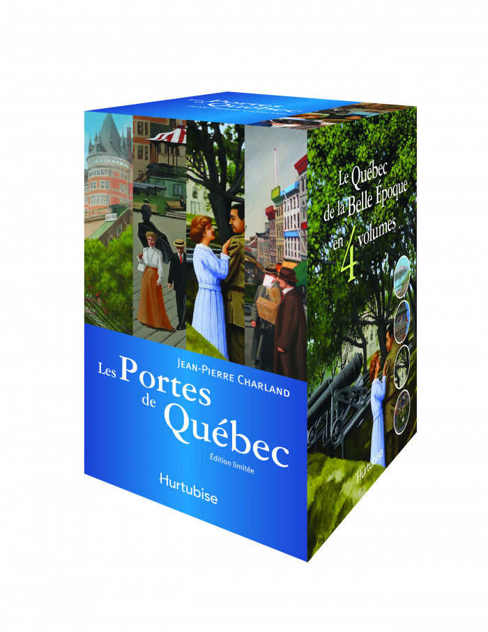 Couverture de Les Portes de Québec (coffret)