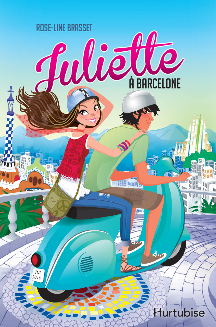Couverture de Juliette à Barcelone