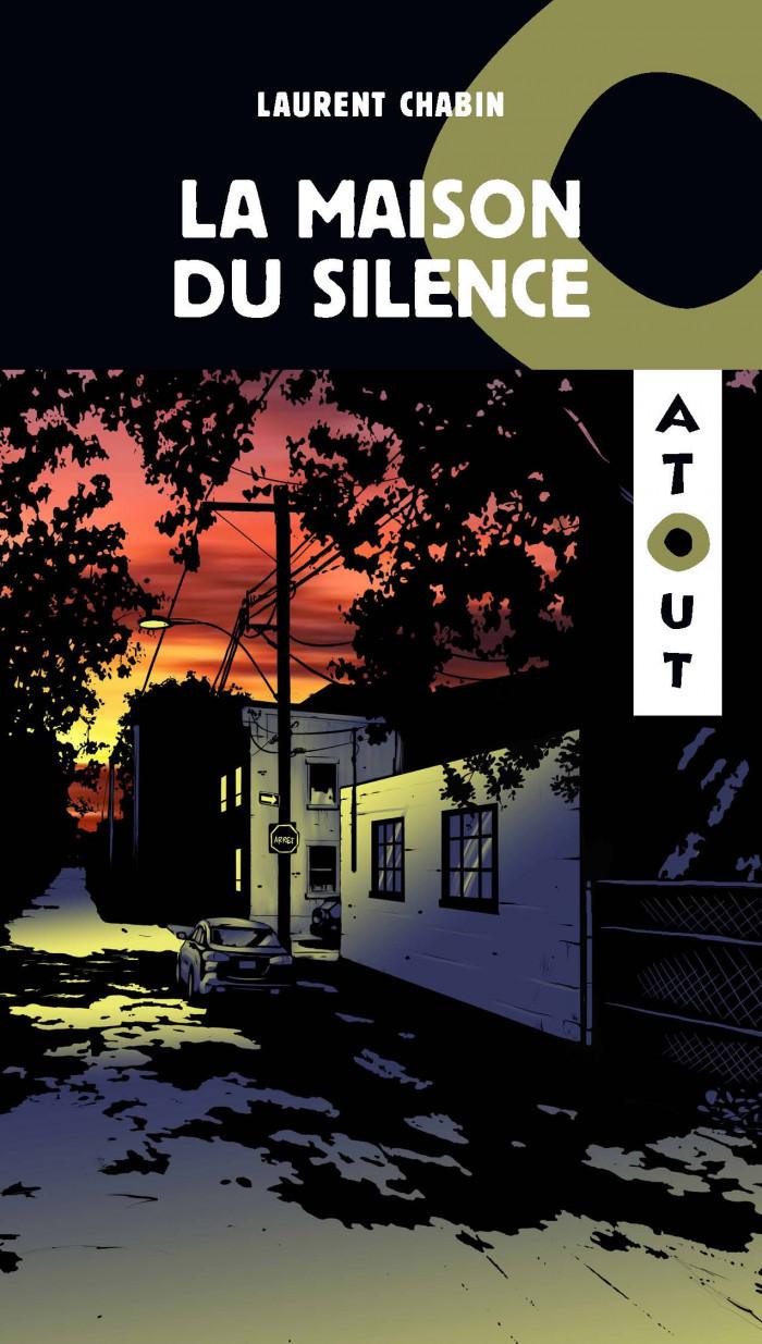 Couverture de La maison du silence