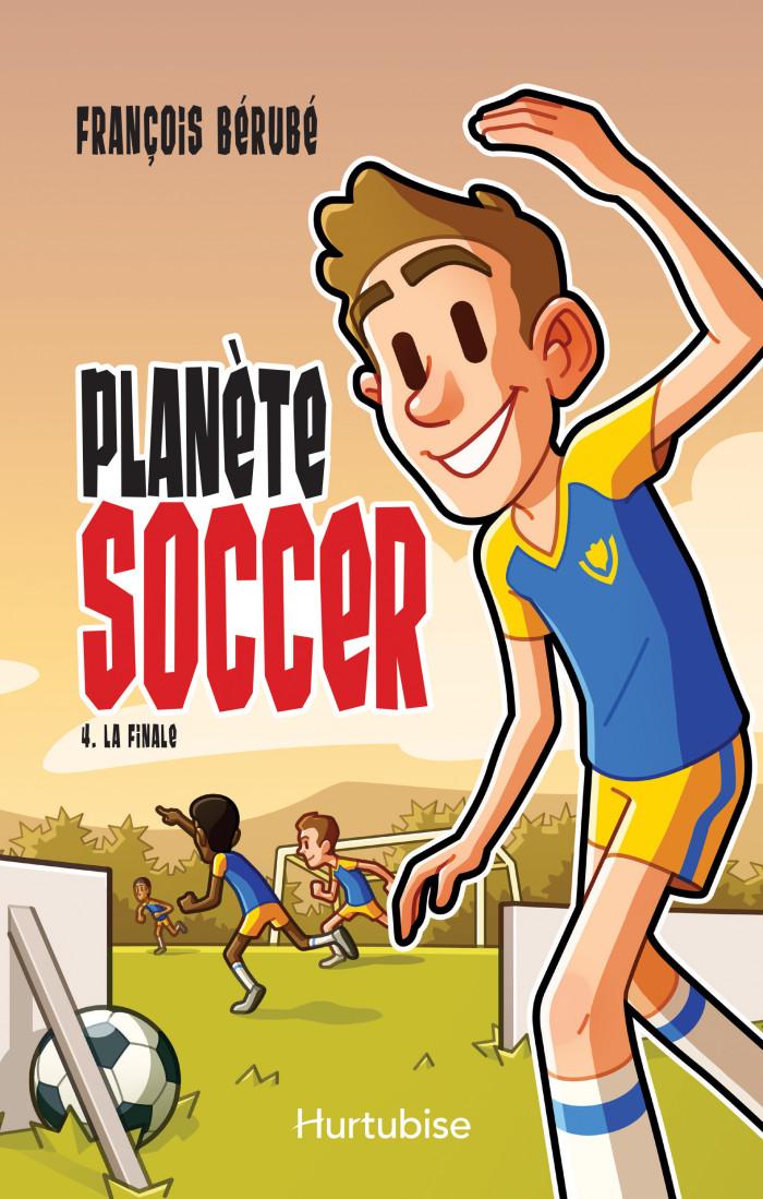 Couverture de Planète soccer - Tome 4