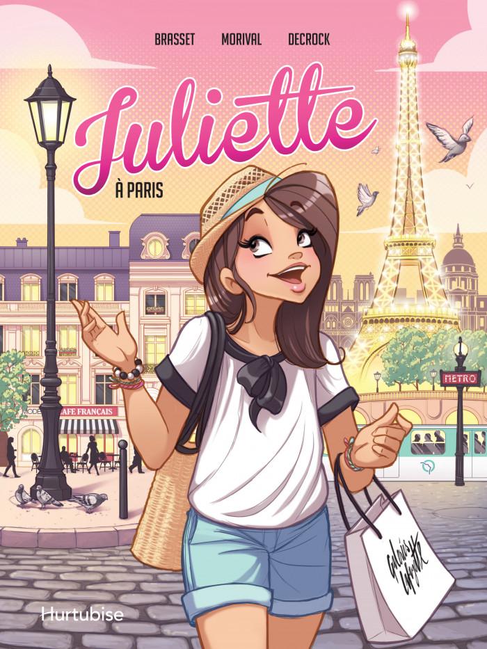 Couverture de Juliette à Paris - La BD