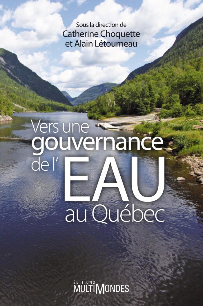 Couverture de Vers une gouvernance de l'eau au Québec