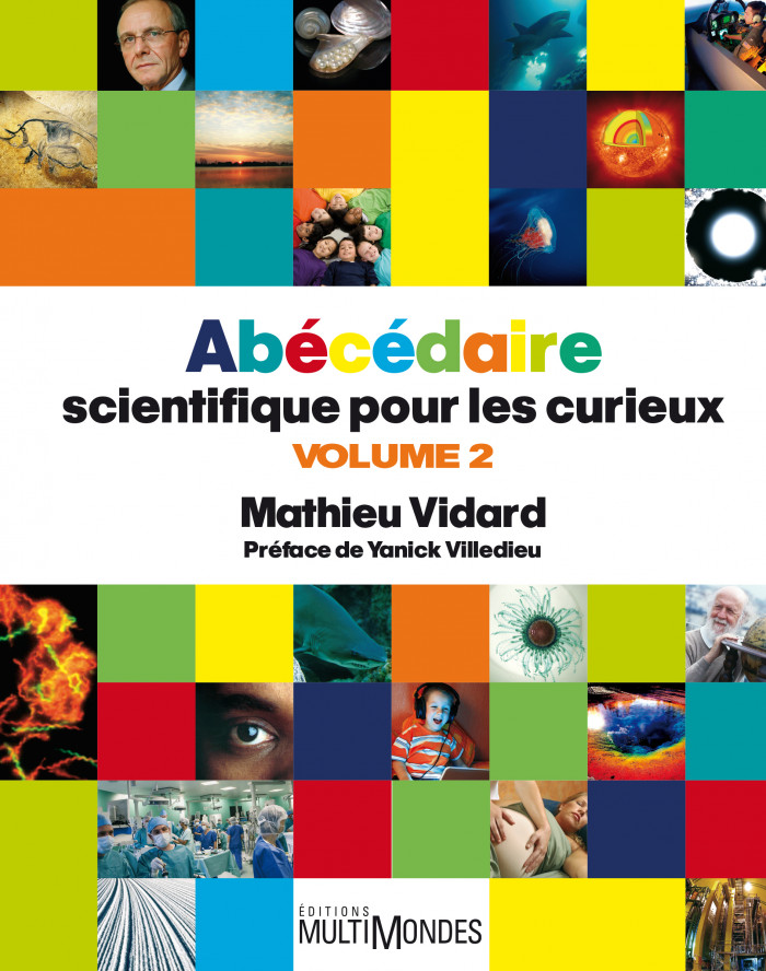 Couverture de Abécédaire scientifique pour les curieux (volume 2)