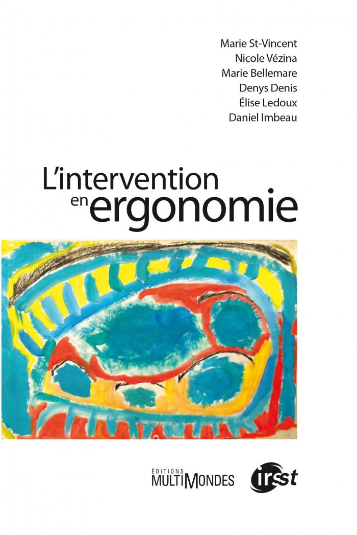 Couverture de L'intervention en ergonomie