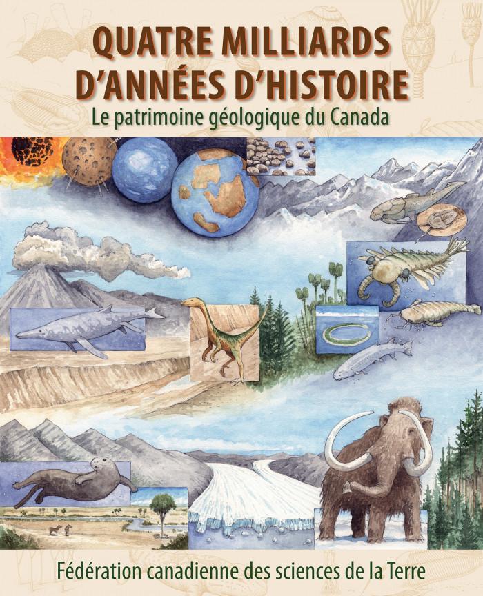 Couverture de Quatre milliards d'années d'histoire