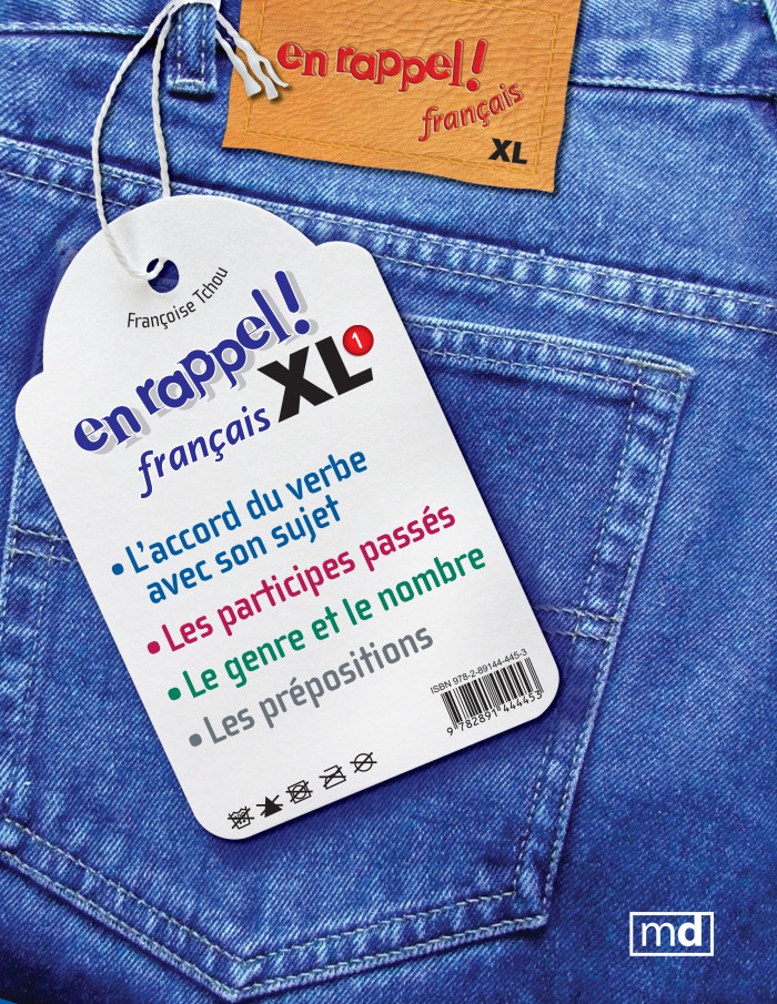 Couverture de Français XL 1