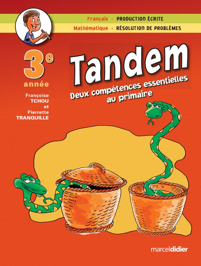 Couverture de Tandem - Français et mathématique, 3e année