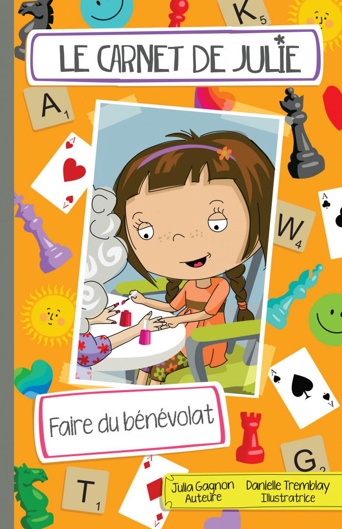 Couverture de Le carnet de Julie - Faire du bénévolat