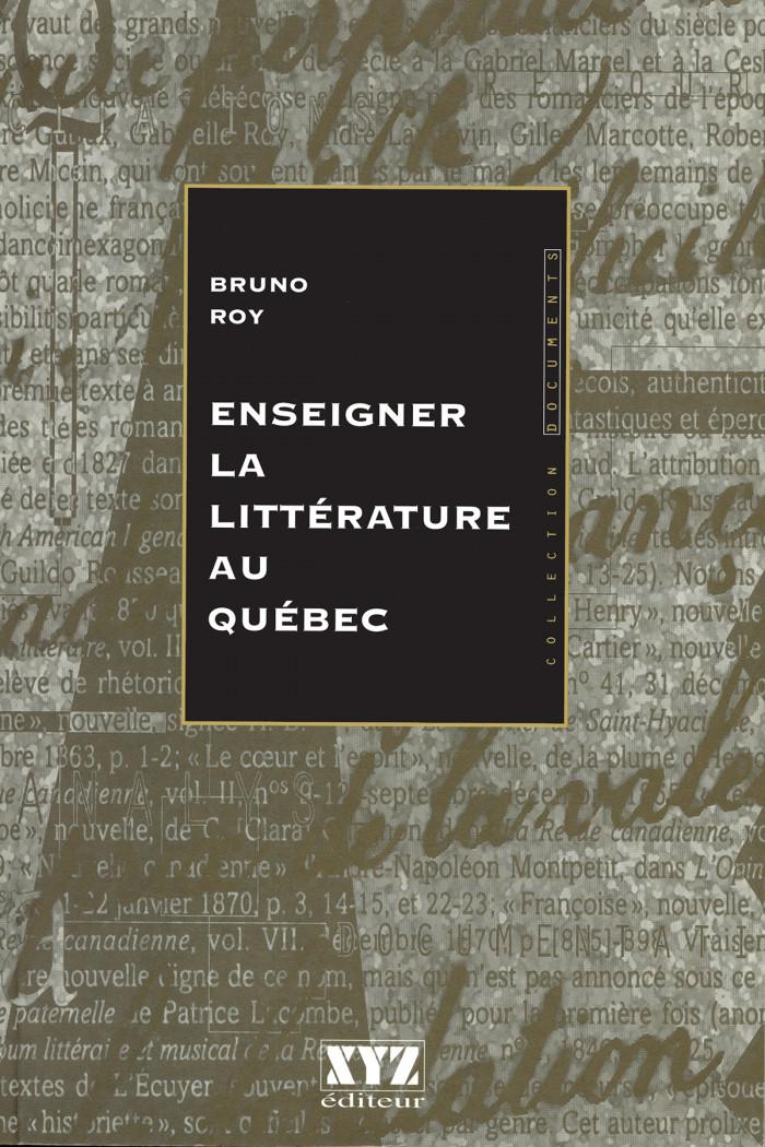 Couverture de Enseigner la littérature au Québec