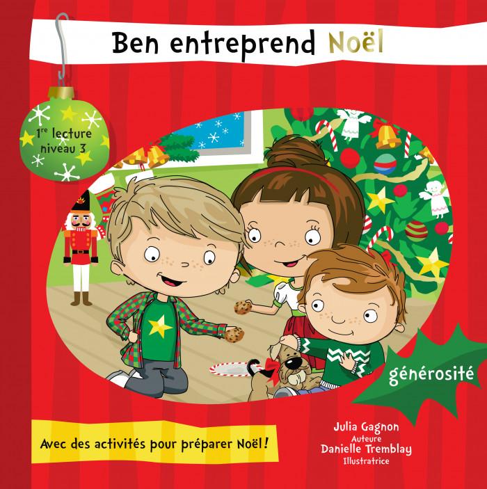 Couverture de Ben entreprend Noël