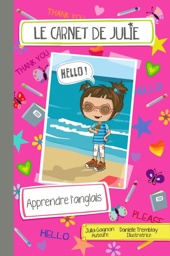 Couverture de Le carnet de Julie - Apprendre l'anglais